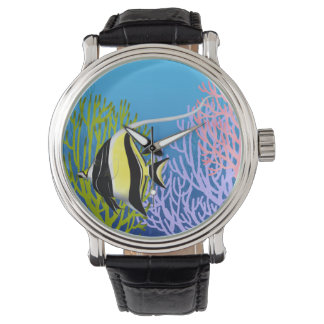 Moorish Idol Reef Fish Watch