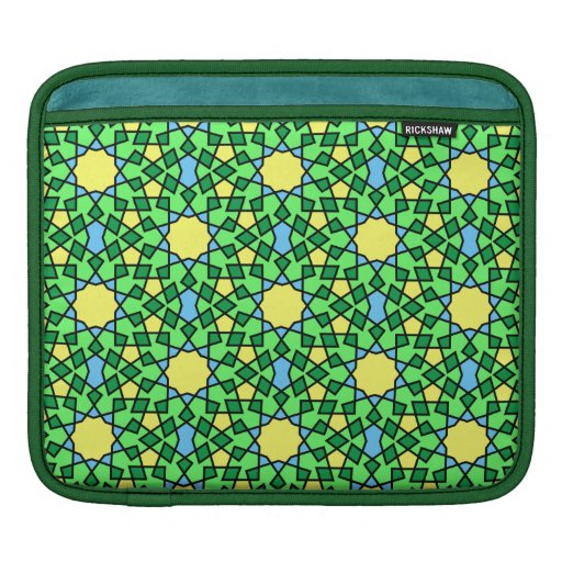Moorish pattern iPad Rickshaw Sleeve Sleeve For iPads