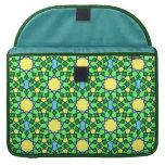 Moorish pattern Rickshaw Flap Sleeve Sleeve For MacBooks