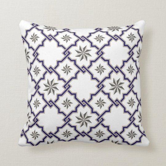 Moorish Patterned Pillow - 16