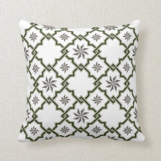 Moorish Patterned Pillow - 17