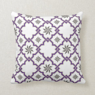 Moorish Patterned Pillow - 19
