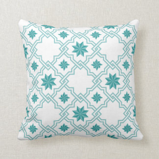 Moorish Patterned Pillow - 2