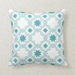 Moorish Patterned Pillow - 2