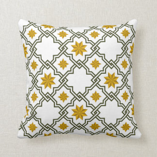 Moorish Patterned Pillow - 4