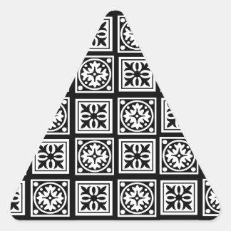 moorish pegatina triangular