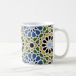 Moorish tile coffee mug
