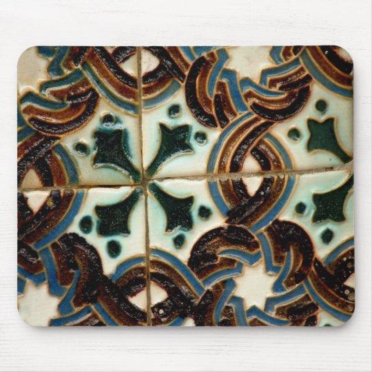 Moorish Tile Mouse Pad