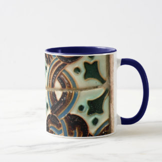 Moorish tile mug
