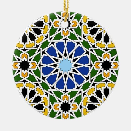 Moorish tile Ornament