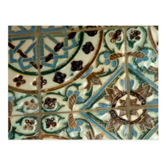 Moorish Tile Postcard