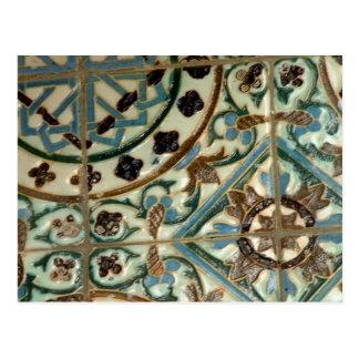 Moorish Tile Postcard