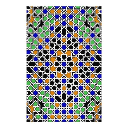 Moorish tile Stationery