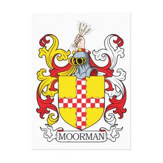 Moorman Family Crest Canvas Print