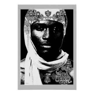 Moors of North Africa Poster