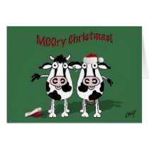 MOOry Christmas and a Happy MOO Year! Card