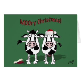 MOOry Christmas and a Happy MOO Year! Cards