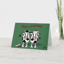 MOOry Christmas and a Happy MOO Year! Holiday Card