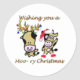 Moory christmas sticker