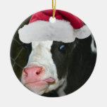 Moory Cow Christmas Christmas Ornament