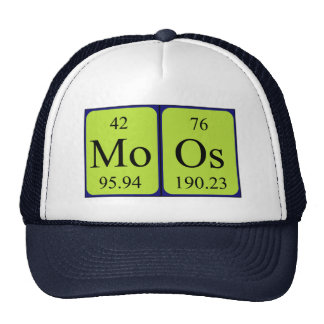 Moos periodic table name hat