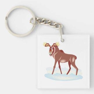 Moose 2 keychain