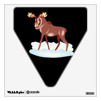 Moose 2 wall sticker