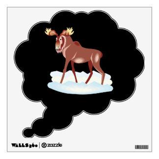 Moose 2 room decals