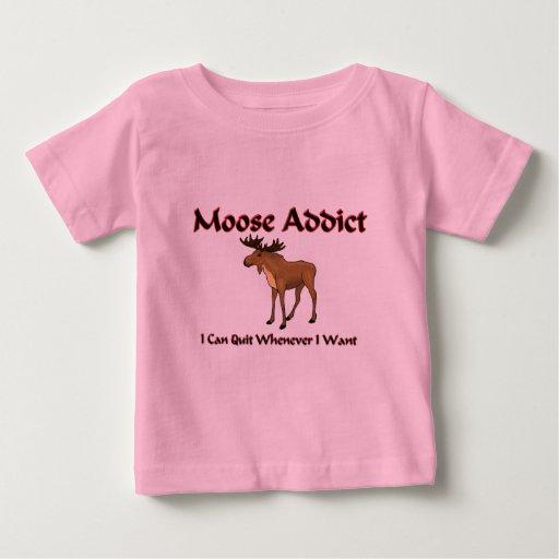 Moose Addict T Shirts