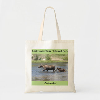 Moose and Baby Tote
