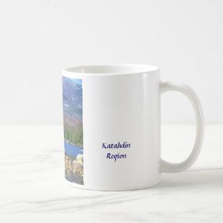 Moose and Mount Katahdin Coffee Mug