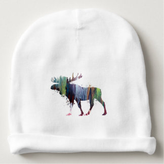 Moose Baby Beanie