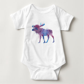 Moose Baby Bodysuit
