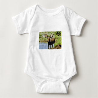 Moose Baby Bodysuit