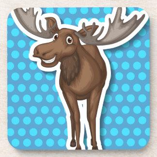 Moose Beverage Coaster