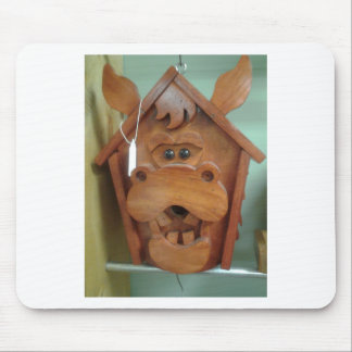 Moose Bird Feeder Products Mouse Pad