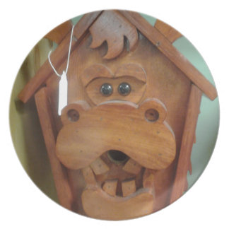 Moose Bird Feeder Products Plate