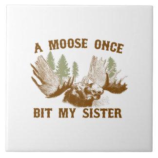 Moose Bite Tile