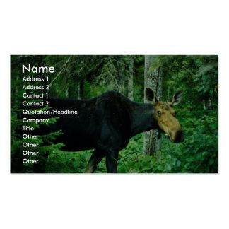 Moose Business Card Template