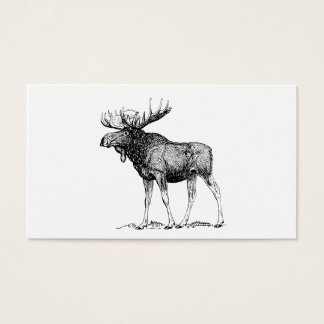 Moose Business Card