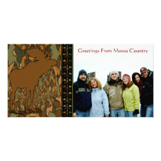 Moose Camouflage Gifts and Invitations