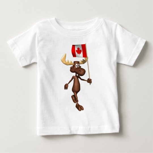 Moose Canada Baby T-Shirt