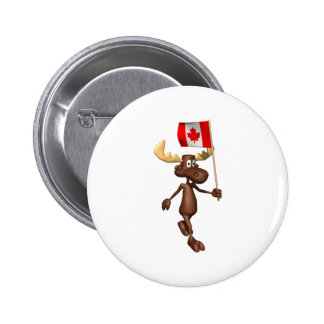Moose Canada Pins