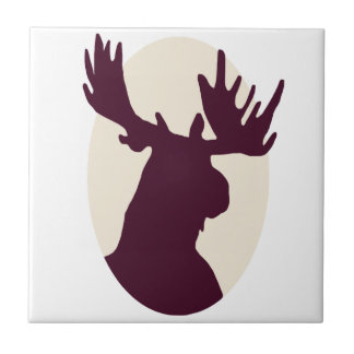 Moose Ceramic Tile
