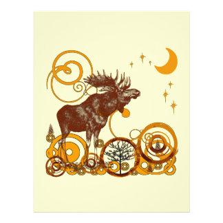 Moose Christmas Flyer