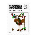 Moose Christmas Postage
