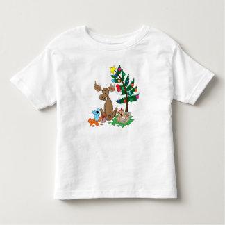 Moose Christmas T-shirt