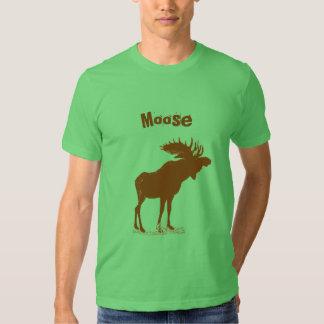 Moose Christmas Tee Shirt