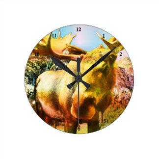 Moose Clock 1