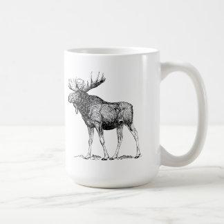 Moose Coffee Mug